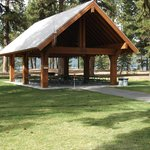 Reservable Day Use Shelter by the Visitor Center.