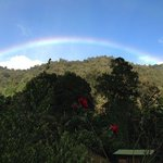 We were greeted by this rainbow on our first visit.
