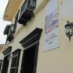 Main Entrance to Hotel Las Palmeras Colonial Hotel
