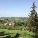 Vista a la colina de La Certosa