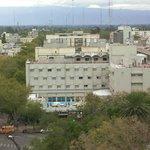 Vista del Hotel desde la torre de La Catedral