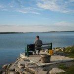 Fishing & enjoying the view!