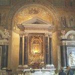 Interior del Baptisterio.