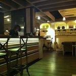 balcão do restaurante