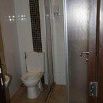 Small but efficient bathroom