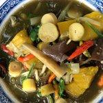 NoKeo  VangVieng young bamboo soup