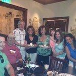 Family celebration at Delmonico's