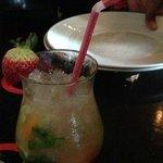 Brazilian drinks - Caipirinha with diverse fruits