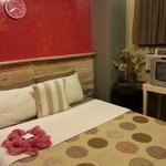 Delux room with aircon