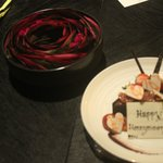 A honeymoon cake