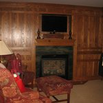 Gas Fireplace in Room #3