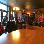 The pub/bar area