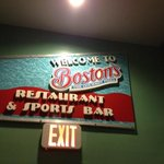 Entry to Bostons