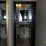 Hall to bathroom