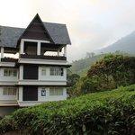 Hotel with tea garden sorrounding