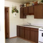 All rooms have a full size kitchen (is separate from the bedroom)
