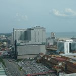 Vue aérienne de l'hôtel