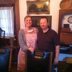 Lillabet and Jordy . . . wonderful hosts!