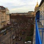 View towards Les Invalids