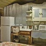 Kitchen, Barn suite.
