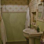 Bathroom, Barn suite.