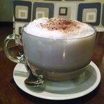 large mocha cappuccino