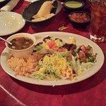 A meal of Fajita Tacos, always a favorite