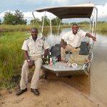 Refreshemnts, Boating Safari