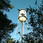 SMI has its own water tower on the premises and it's quite picturesque - they light it up at nig