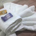 ropa blanca de baño