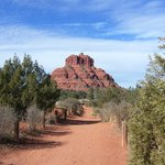 Bell Rock and easy hiking trail