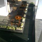 Alila Bangalore - Lobby and Hotel Bar Area