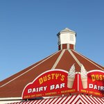 Dusty's has the best ice cream in town