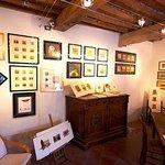 Atelier e acquerelli della mamma di Francesco, Adelina