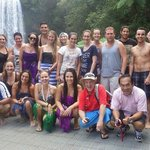 Group shot at Milla Milla falls