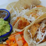 Fish Tacos off pool snack menu
