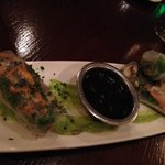 Chicken Spring Rolls for appetizer
