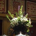 Ornamental bouquets.