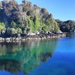 Beautiful waters of Paterson Inlet