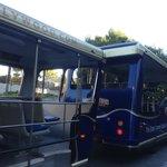 Universal City駅からの無料シャトルバス
