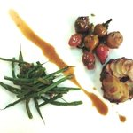 Pomme Anna, Oven Shallot (condiment of 'T Boers' Milk Fed Veal Chop