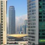 вот такой утренний туман движется с Персидского залива.