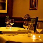 Our downstairs restaurant is the perfect setting for a romantic dinner for two