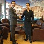 Councillor Khan gives Caffe Venecia his approval