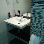 Clean, rather swish bathroom room 10