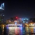 Saigon skyline as seen from the Bonsai