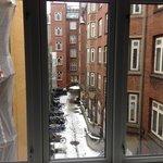 Вид из окна гостиной