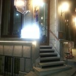 Hotel entrance by night 2