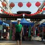 Chinese new year at gaya street