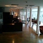 Reception area (was nice)